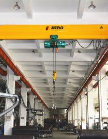 Cầu trục dầm đơn (Hiro Heavy Industry)